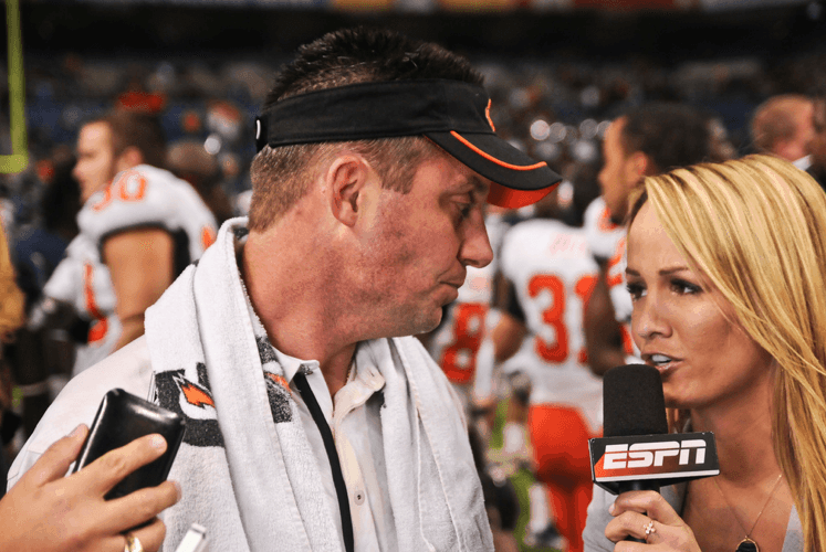 Mike Gundy by KT King