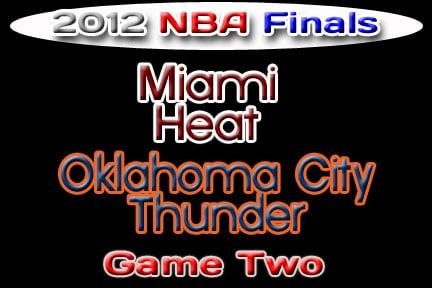 Oklahoma Sports Blog. OKC Thunder vs. Miami Heat, NBA Finals 2012