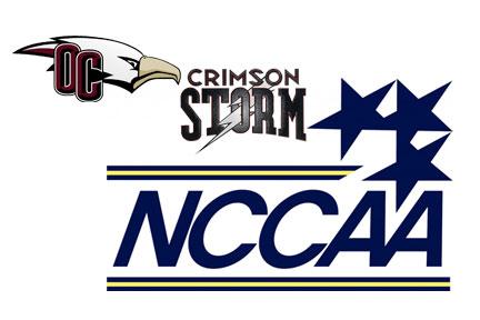 Oklahoma Christian, Southern Nazarene, NCCAA logos used with permission.