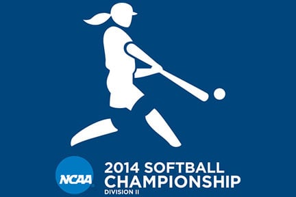 NCAA softball logo. Used with permission.