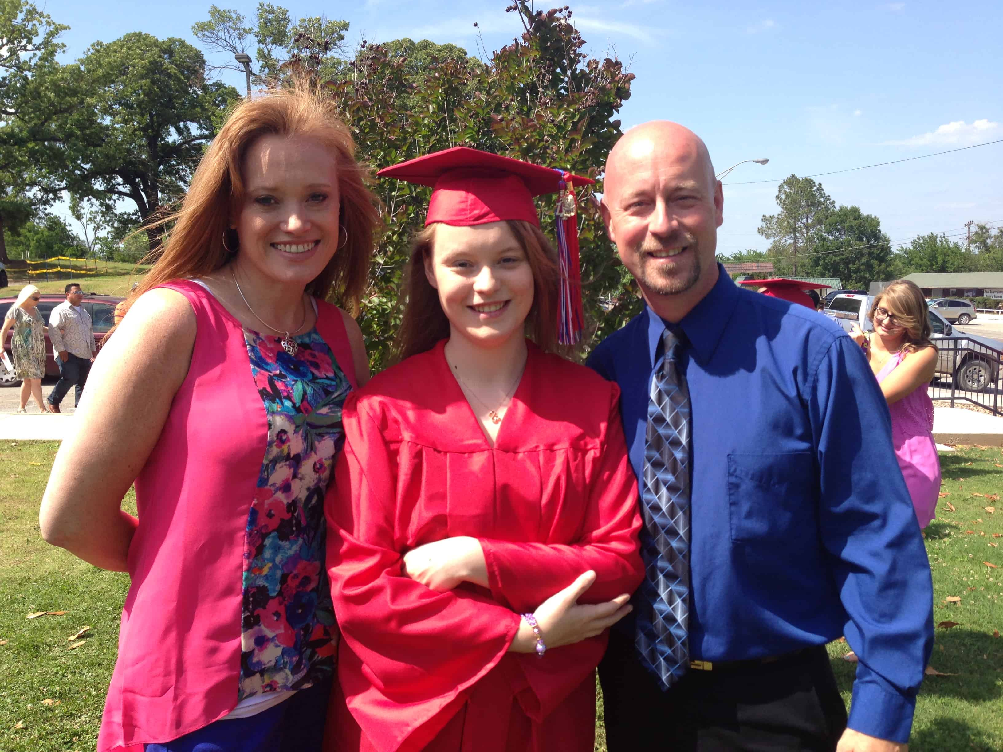 Jacelyn Rayne, graduate