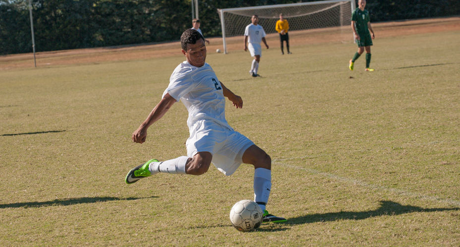 SGU's Felix Caceres.  Photo courtesy St. Gregory's Sports Info.