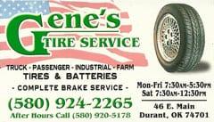 Gene's Tires