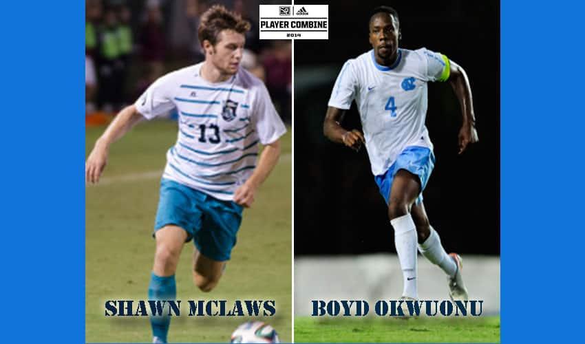 McLaws photo courtesy Coastal Carolina Athletics. Okwuonu photo courtesy UNC Athletic Communications.
