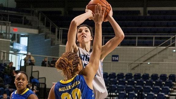 Jessica Penner.  Photo courtesy SWOSU Sports Info.