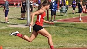Plainview Indians Track Athlete Hope Salzman