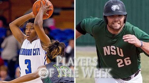 Rateska Brown, photo courtesy OCU Sports Info. Preston Cash, photo courtesy NSU Sports Info.