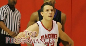 Bacone's Matt Qualls, photo courtesy BC Sports Info.