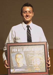 Crowson was tabbed an FCA All-Stater in 2015. He was nominated by Marlow coaches Matt Eaves and Nick Scalf.