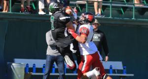 Northeastern State's Garrett Powell. Photo courtesy NSU Sports Info.