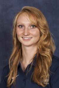 Kalie Mader is a former SWOSU player and assistant coach and currently the head coach at Blinn Junior College. Photo courtesy SWOSU Sports Info.