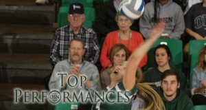 Oklahoma Baptist's Carrie Strong. Photo courtesy OBU Sports Info.
