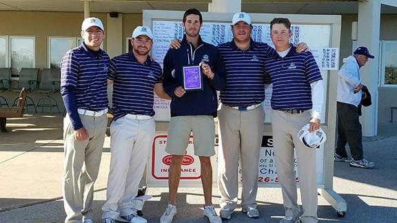 SWOSU Men's Golf team won the SBU Invitational by 12 strokes (Photo: SWOSU Golf)