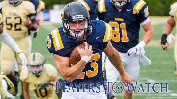 Central's Clay McKenzie. Photo courtesy UCO Photographic Services.