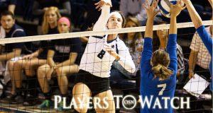 Southwestern's Carly Zak. Photo courtesy SWOSU Sports Info.