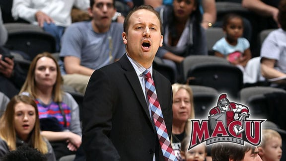 MACU head men's basketball coach Josh Gamblin. Photo courtesy MACU Sports Info.