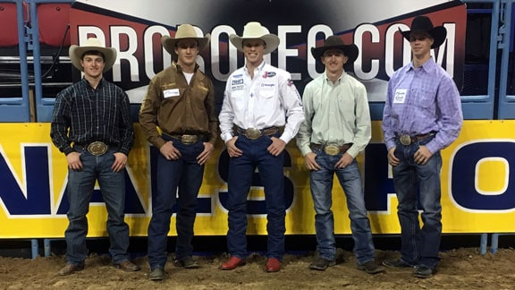 The Panhandle family of five former Aggies earned a combined $481,044.86 at the 2016 WNFR. - Photo by Shelbie Weeder