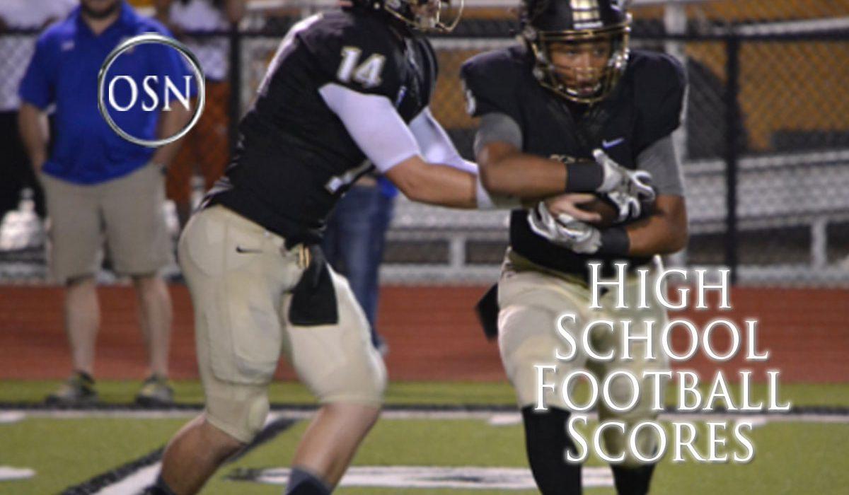 Oklahoma High School Football 2017 Week Seven
