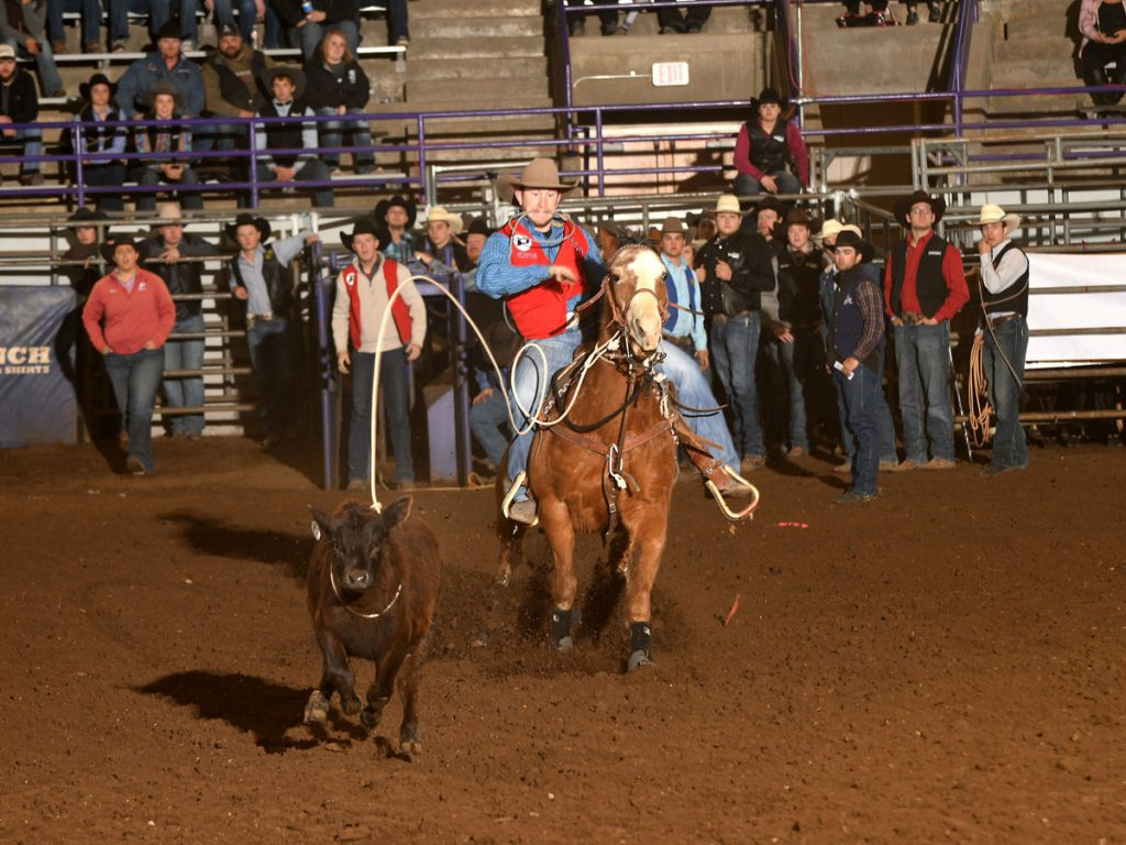 Opsu Men S Rodeo Team Wins First Spring Rodeo